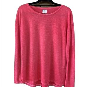 Anthropologie Sundry Terry Lounge Shirt Pullover